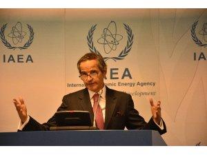 """Uluslararası Atom Enerjisi Ajansı Başkanı Grossi: """"İki tesise İran'ın giriş izni vermesi memnuniyet verici"""""""