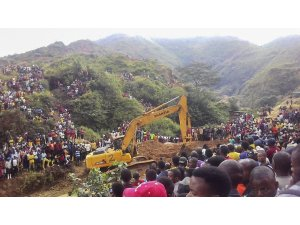 Kongo'da çöken altın madeninde 19 kişinin cansız bedenine ulaşıldı