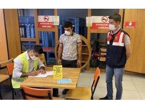 Ağrı'da karantina ihlaline 3 bin 150 lira para cezası kesildi