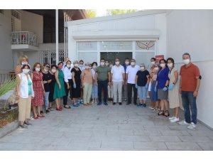 Kuşadası Belediyesi emek atölyesinin ürettiği maske sayısı 1 milyonu aştı