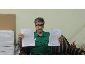 Haberi olmadan bankadan kredi çekildi, 65 bin lira dolandırıldı