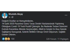 Beyağaç Belediye Başkanın korona virüs testi pozitif çıktı
