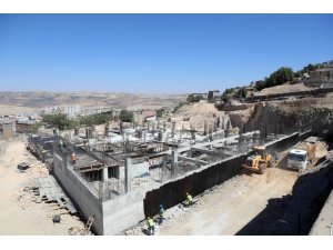 Diyarbakırkapı Otopark Projesi yükselmeye devam ediyor