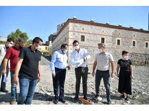 """Başkan Demir: """"Şehrimizin tarihi dokusunu gün yüzüne çıkaracağız"""""""