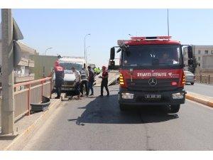 Şanlıurfa'da korkutan kaza