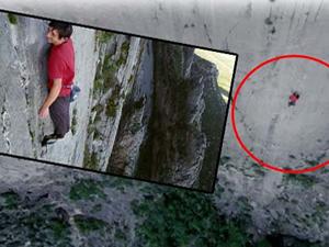 762 metrede ölüme meydan okudu