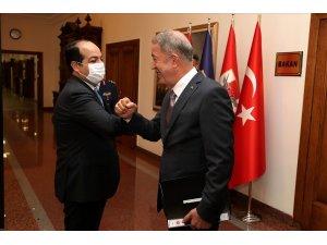 Bakan Akar, Libya Ulusal Mutabakat Hükümeti Başkanlık Konseyi Başkan Yardımcısı ile görüştü