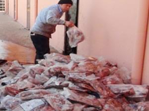 Van'da 7 ton kaçak et ele geçirildi