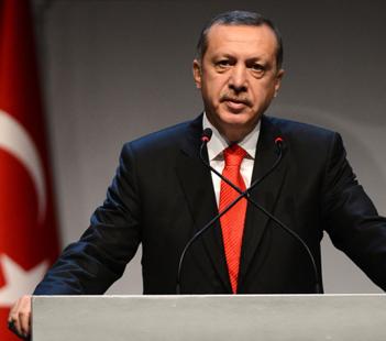 Erdoğan Fatih Projesi töreninde konuşuyor