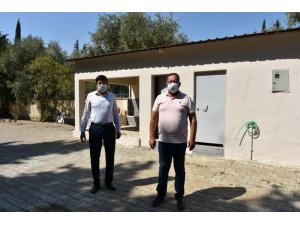 İsabeyli Mahallesi'nde abdesthane ve yeni mezarlık alanı çalışmaları tamamlandı