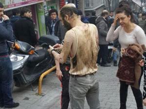 Taksim'de ki  patlamanın ayrıntıları