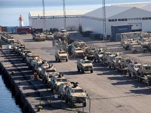 Alman ordusu Trabzon'a çıkarma yaptı