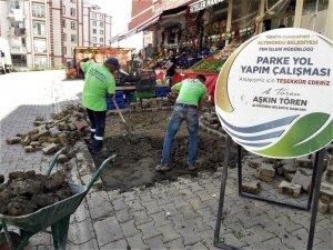Altınordu'da yol onarım ve yenileme çalışmaları sürüyor