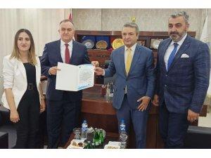 MHP Grup Başkan Vekili Akçay'dan HATSO'ya ziyaret