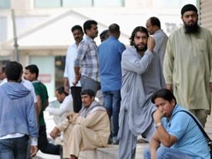 Arabistan'da 357 kaçak işçi yakalandı