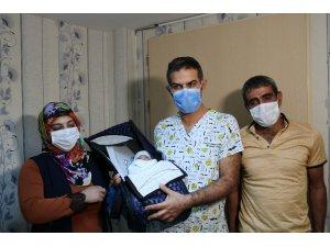 9 yıl boyunca çocuğu olmadı, mutlu haberi Diyarbakır'da aldı