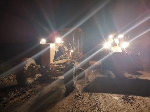 Büyükşehir ekipleri şiddetli yağış sonrası anında müdahalede bulundu
