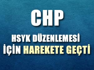 CHP HSYK Düzenlemesi İçin AYM'ye Başvuruyor