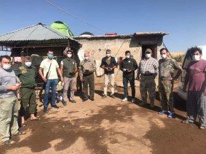 Dkmp ekipleri tarafından avcılar kontrol edildi
