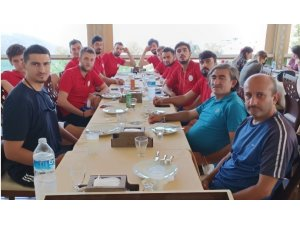 Melikgazi Belediyespor hazırlık maçı oynadı