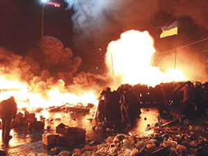 Ukrayna'da kanlı gece: 21 ölü