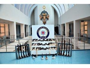 Adana'da bir haftada 68 silah ele geçirildi