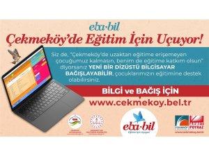 Çekmeköy'de EBA-BİL eğitim için uçuyor