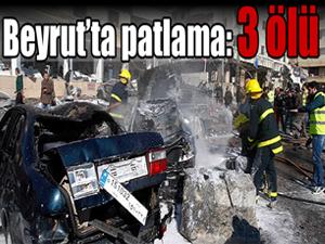Beyrut'un güneyinde iki ayrı patlama: 3 ölü