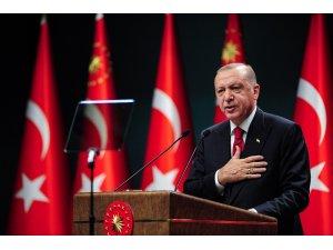 """Cumhurbaşkanı Erdoğan: """"BM tarihinde ilk defa ülkemizden bir isim, uzun yıllar Meclis'te milletvekilimiz olarak görev yapan Volkan Bozkır, Genel Kurul başkanı olarak görev yapacak. BM Genel Kurulun öncelikli gündemi salgın o"""