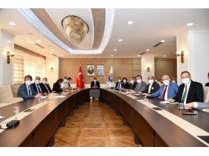 """Karabük'te """"pandemi denetim ekipleri"""" toplantısı"""