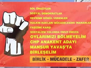 Ankara'yı karıştıran afiş