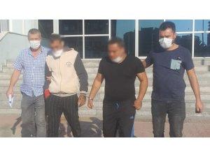 Koşarak polisten kaçmaya çalışan hırsız tutuklandı