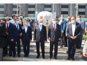 Son Başbakan Binali Yıldırım, Şanlıurfa Büyükşehir Belediyesini ziyaret etti