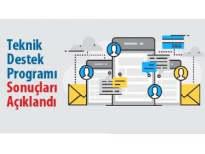 KUDAKA Teknik Destek Programı 4. Dönem sonuçları açıklandı