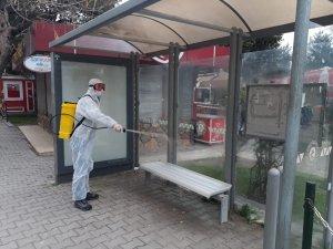"""Başkan Demirtaş: """"İlçemizde dezenfekte çalışmaları devam ediyor"""""""