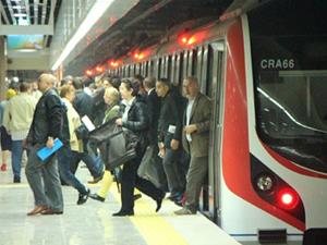 Marmaray İstanbul'u taşıdı