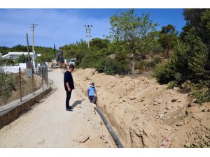 Bodrum Dağbelen'in su sorunu çözülüyor