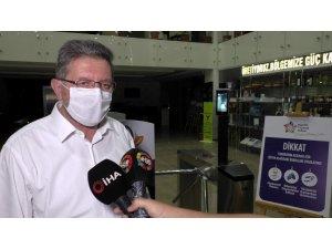 NTO'ya maskesiz veya yüksek ateşle girilemiyor