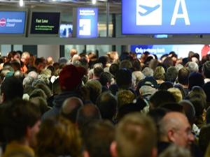 Frankfurt Havalimanı'nda grev kaosu