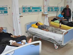 Kayseri'de zincirleme trafik kazası: 14 yaralı