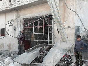 Yebrud'da kimyasal silah iddiası