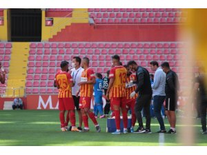 Süper Lig: Kayserispor: 0 - B.B. Erzurumspor: 2 (İlk yarı)