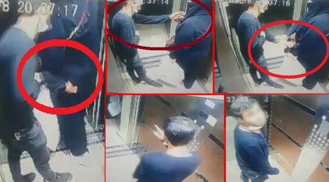 Asansör tacizcisi yakalandı