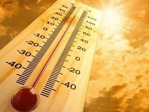 Niğde'de Sıcak Hava