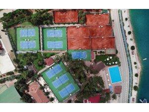 Tenis kulübünde elektrik üretimi