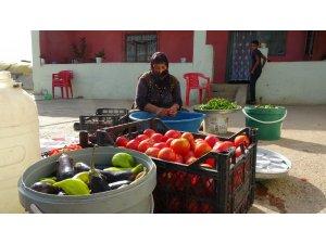 Muş'ta kışlık konserve hazırlığı