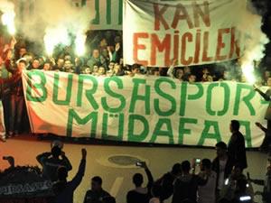 Bursaspor TFF'yi protesto etti