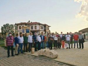 TÜRSAB Doğu Karadeniz Bölge Temsil Kurulu Başkanı Kantarcı ve beraberindeki acenta yetkililerinden Bayburt'a ziyaret