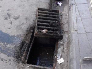 Bingöl'de yağışlar öncesi mazgallar temizlendi