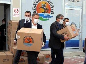 Atakum Belediye Başkanı Cemil Deveci'nin Kovid-19 testi pozitif çıktı